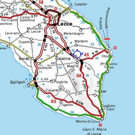 Cartina Spiagge Puglia Salento.Reportweb Cultura Un Viaggio Lento E Senza Tempo Nel Salento Dei Due Mari