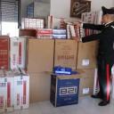 Napoli: contrabbando. Maxi sequestro, 2 tonnellate e mezza di sigarette sequestrate dai carabinieri