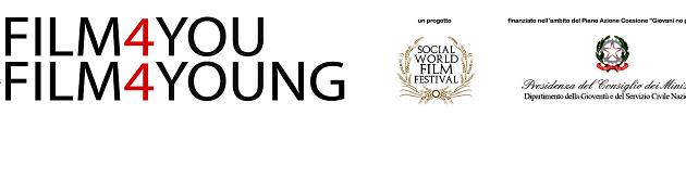 Film 4 Young, al via il progetto del Social World Film Festival per realizzare un film con una troupe di giovani under 35