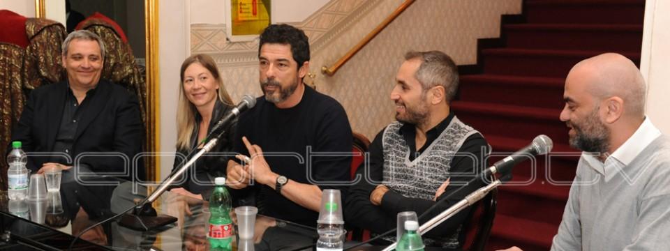 Alessandro Gassman al Teatro Bellini di Napoli – FOTO E INTERVISTE