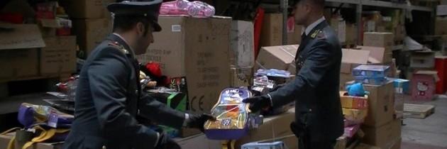 Caserta maxisequestro di prodotti contraffatti for Progress caserta prodotti