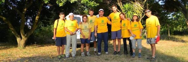 Pontecagnano, terminato il campo di volontariato nazionale