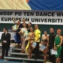 Ballerina anastasiana sul podio a Bratislava