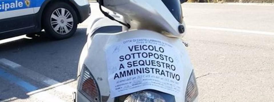 Castellammare. Polizia Locale: fermato veicolo per violazione del dispositivo di Zona a traffico limitato