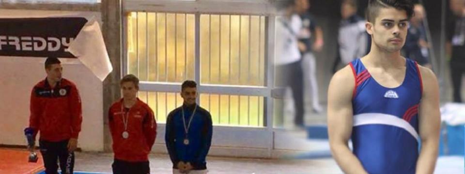 Ginnastica, Castellammare festeggia Barbato vice campione italiano