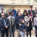 Castellammare. I ragazzi dell'Istituto  Vitruvio consegnano alla città l'aiuola restaurata