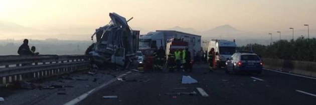 """Campania, Anas: a causa di un incidente, provvisoriamente chiusa la strada statale 19 """"Delle Calabrie"""" a Padula (SA)"""
