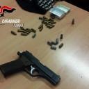 Afragola: carabinieri scoprono una pistola nascosta nei condotti dell'aria condizionata di un centro commerciale