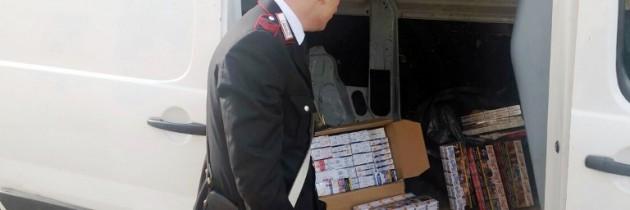 Giugliano in Campania: Carabinieri trovano il bottino di una rapina a trasportatori di sigarette