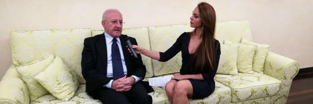 """PD: De Luca, a Napoli non esiste. Quando si parla della Regione lo si fa """"a capocchia"""""""
