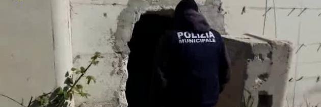 Napoli. La Polizia Locale interviene sull'area Gaslini struttura sequestrata