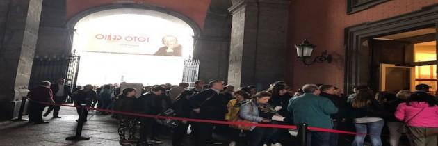 Mostra Totò pienone di napoletani e turisti. Oltre 5000 presenze