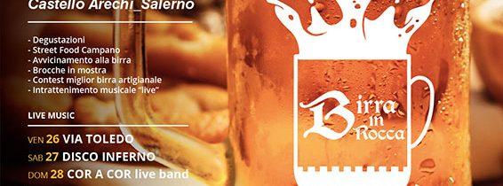 """SALERNO – """"Birra in B…Rocca"""", ecco il programma della II edizione"""