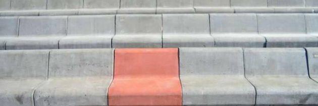 Inaugurazione secondo tratto della Villa Comunale: effetto Tetris per le nuove panchine