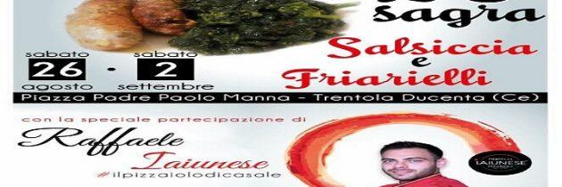 20esima sagra salsiccia e friarielli a Trentola Ducenta: il volto di una tradizione storica